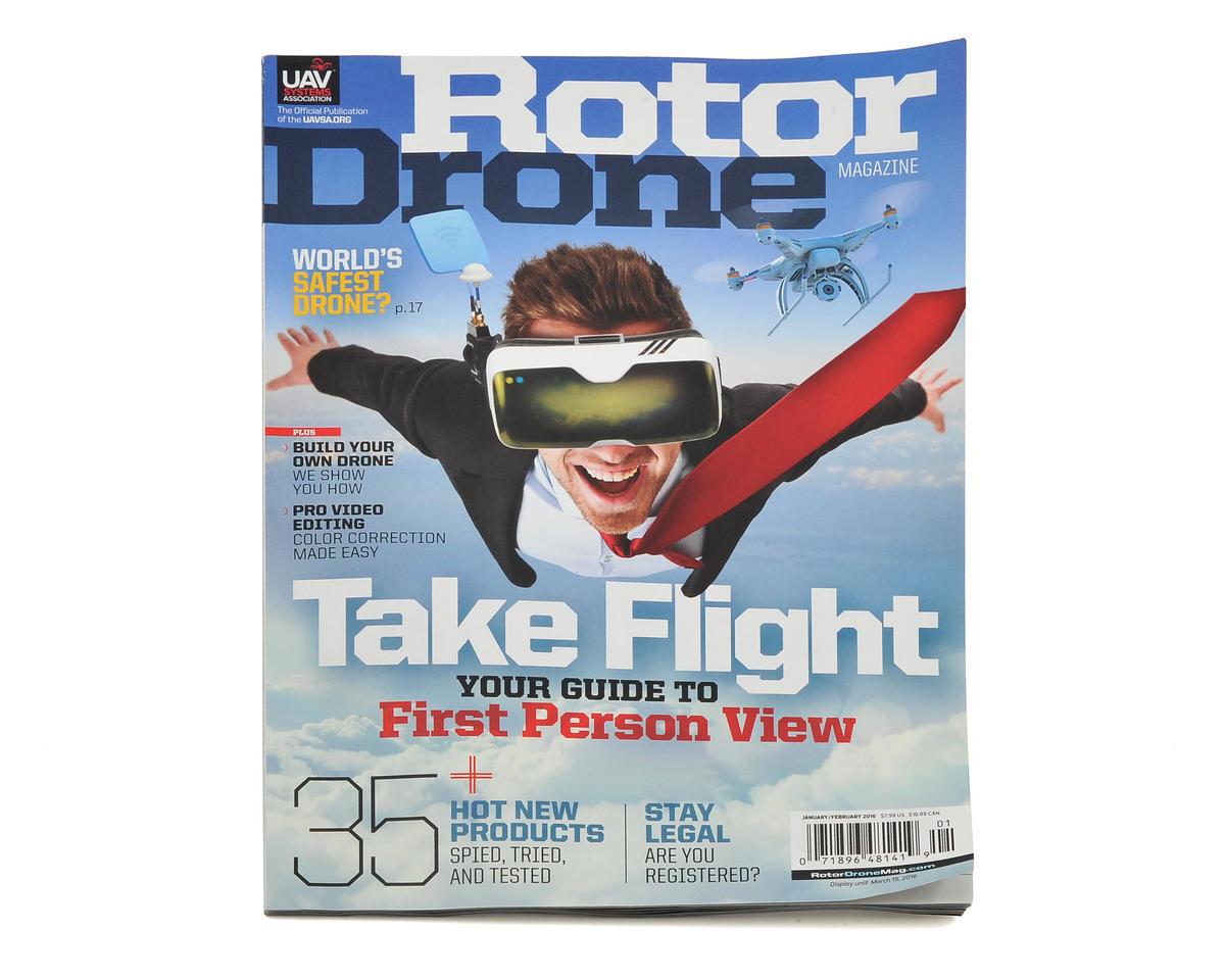 Rotor Drone Magazine - January/February 2016