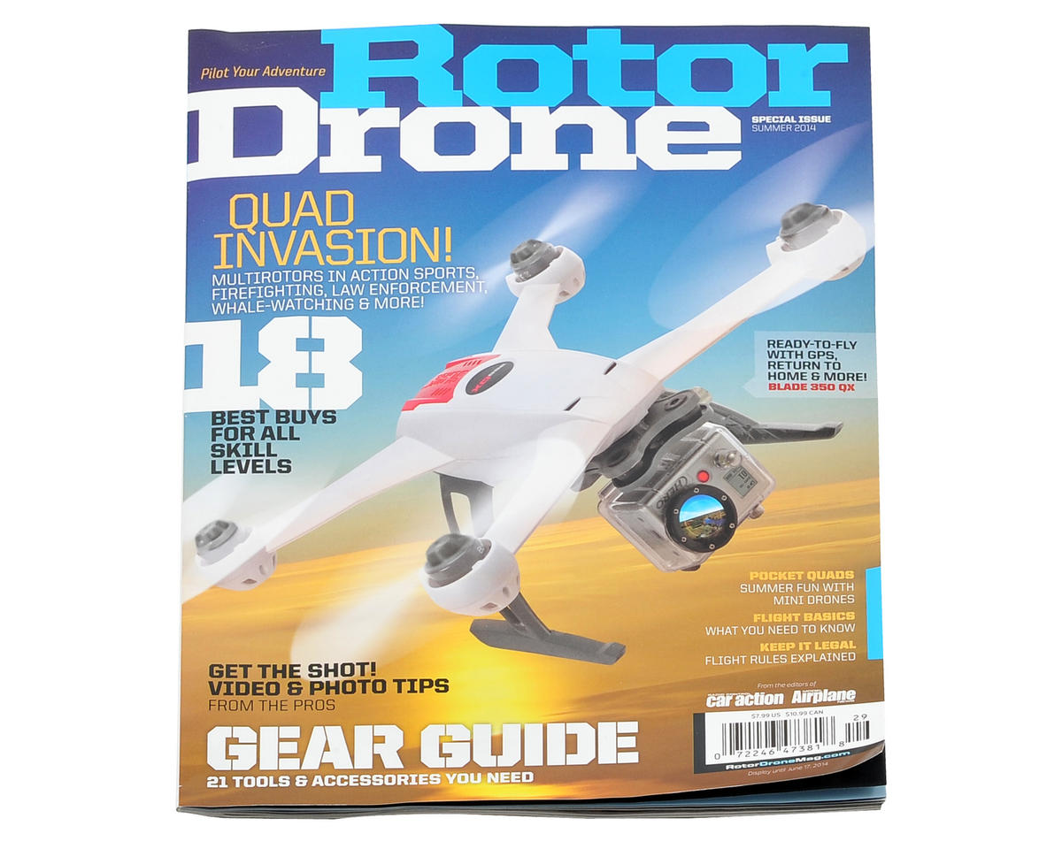 Rotor Drone Magazine - Summer 2014