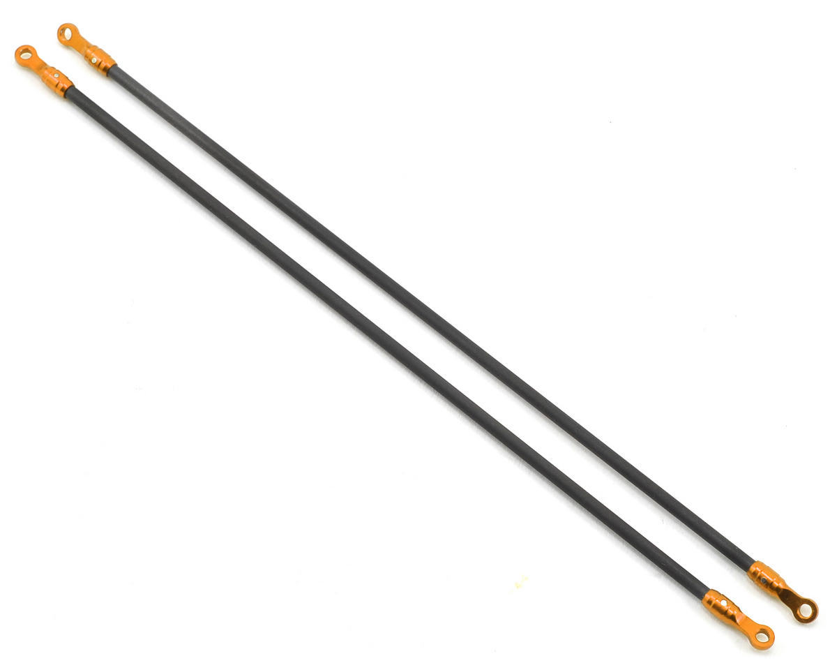 MicroHeli Aluminum/Carbon Tail Boom Support Set (Gold)