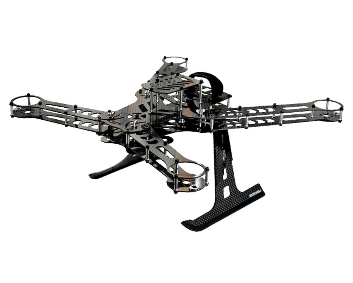 Carbon Fiber Blade 350 QX Quadcopter Frame Kit by MicroHeli