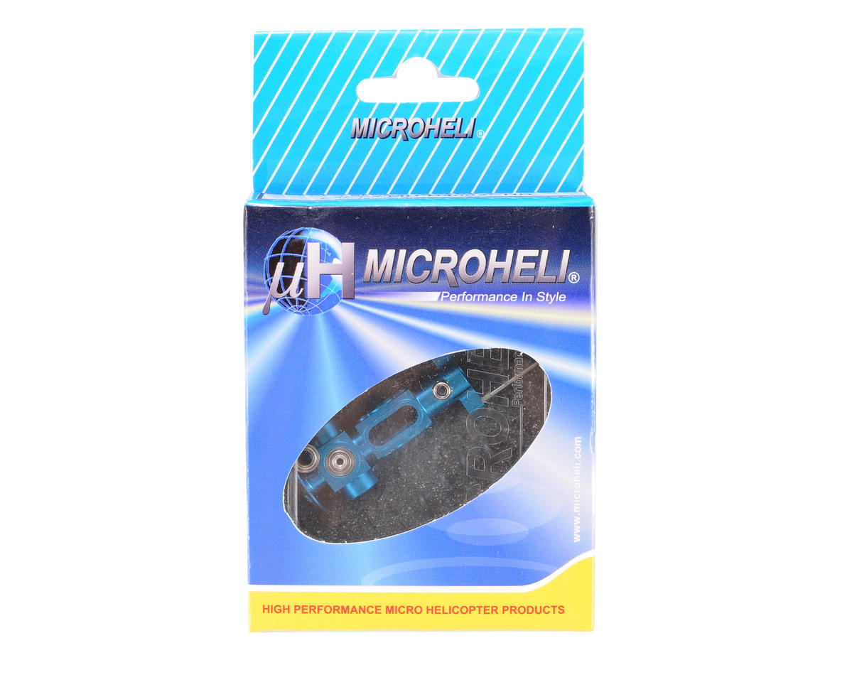 MicroHeli Precision Center Hub (Blue) (Blade 400)