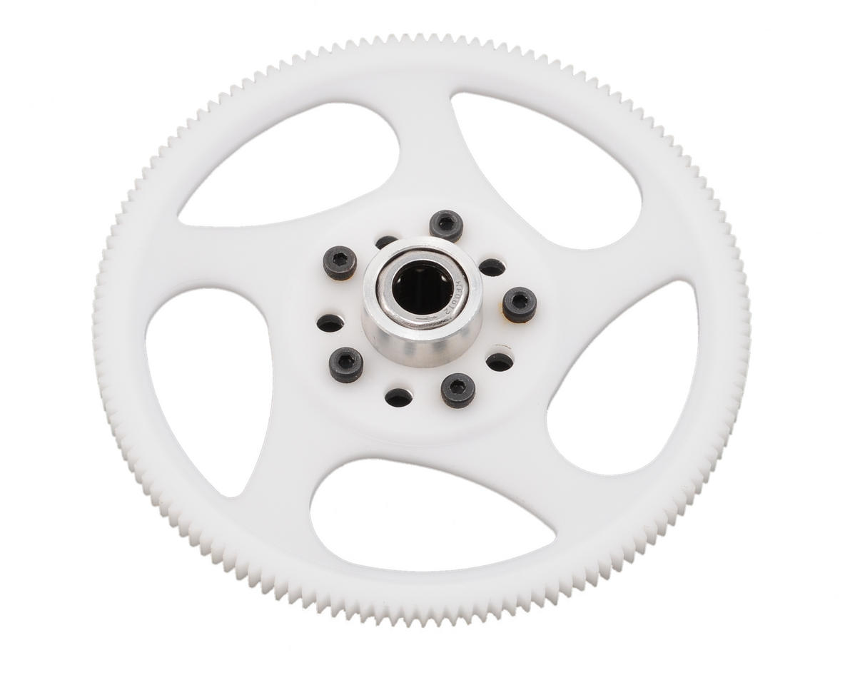 MicroHeli Precision CNC Delrin Main Gear w/Hub & Bearing