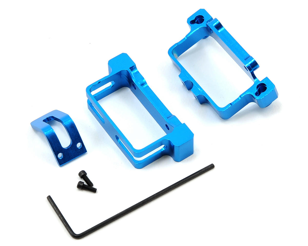 MicroHeli Aluminum Battery Tray (Blue) (Blade CX/CX2)