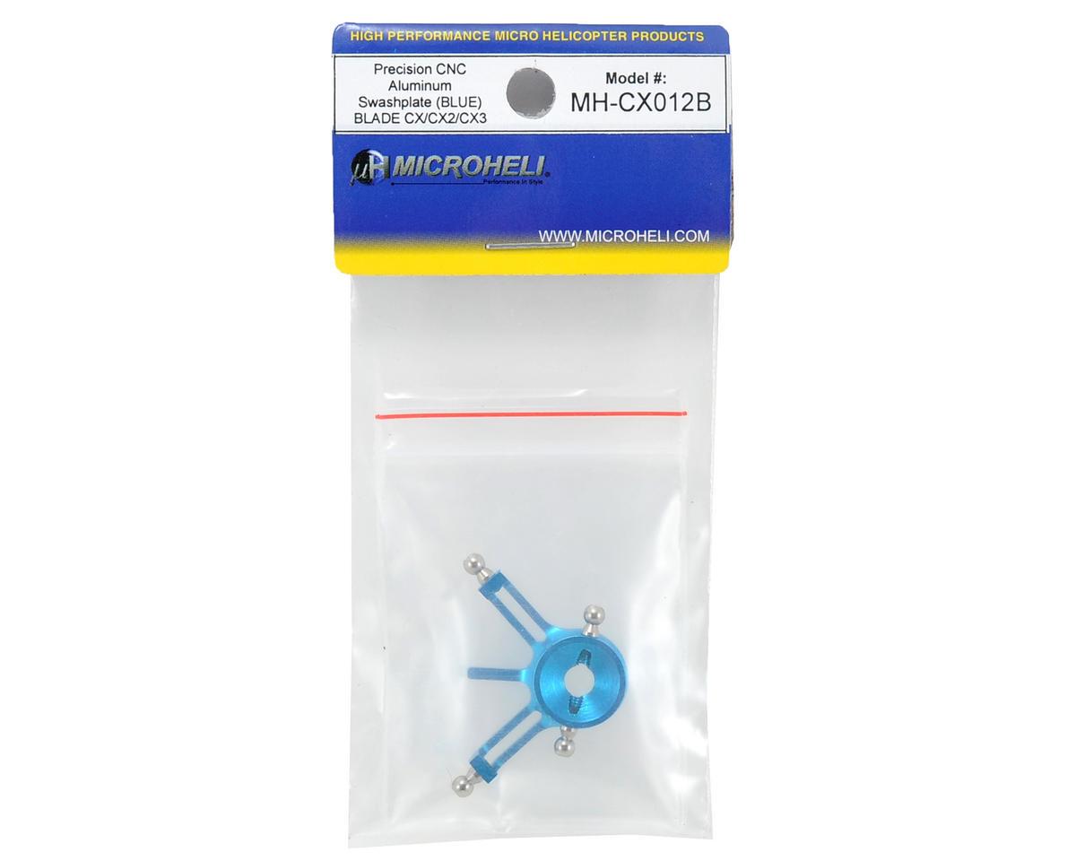 MicroHeli Aluminum Swashplate (Blue)