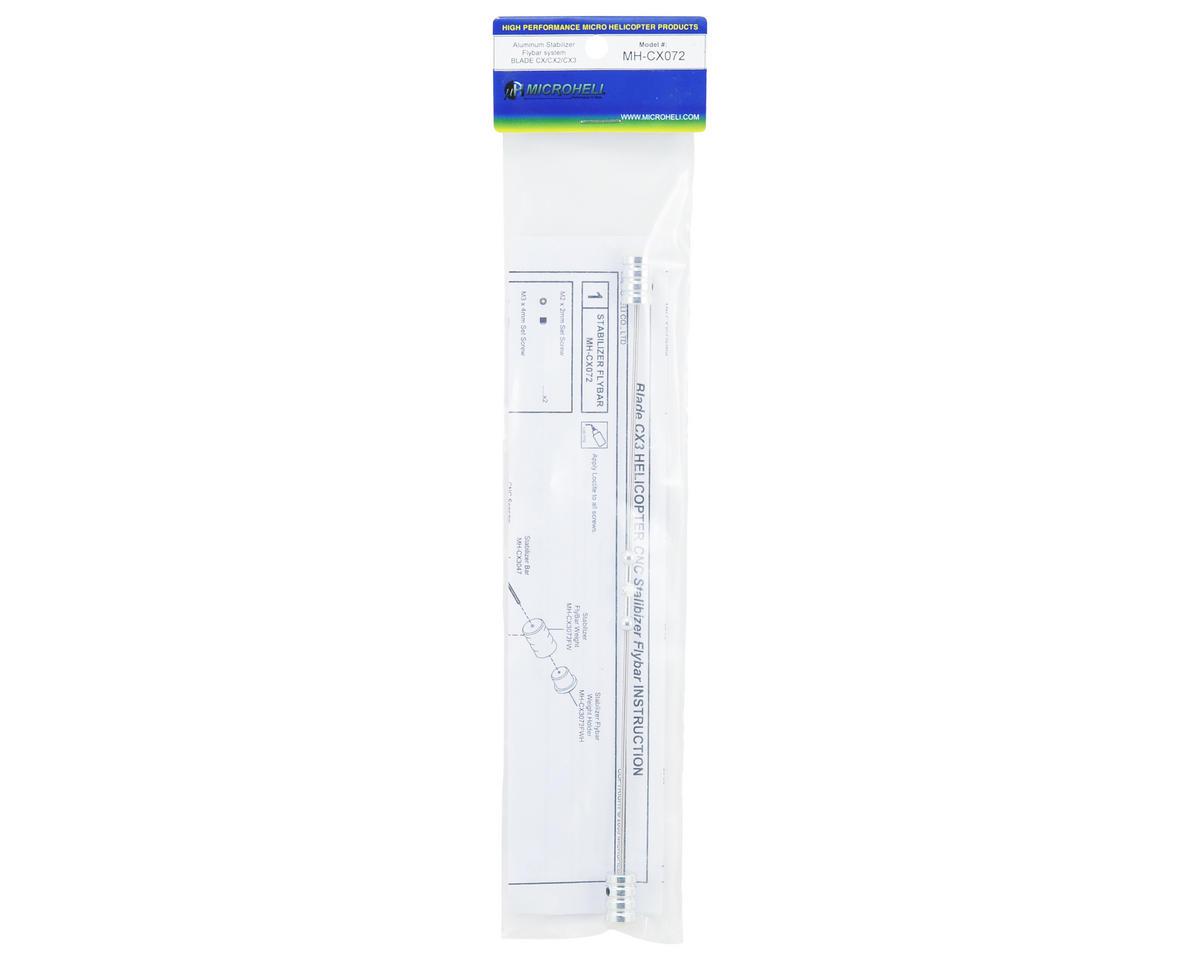 MicroHeli Aluminum Stabilizer Flybar Set