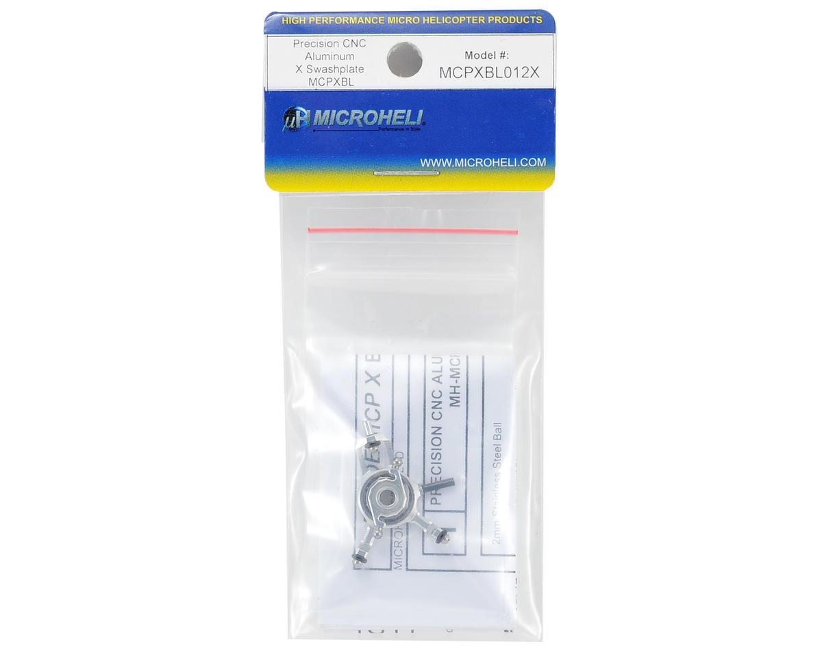 MicroHeli mCP X BL CNC Aluminum X Swashplate