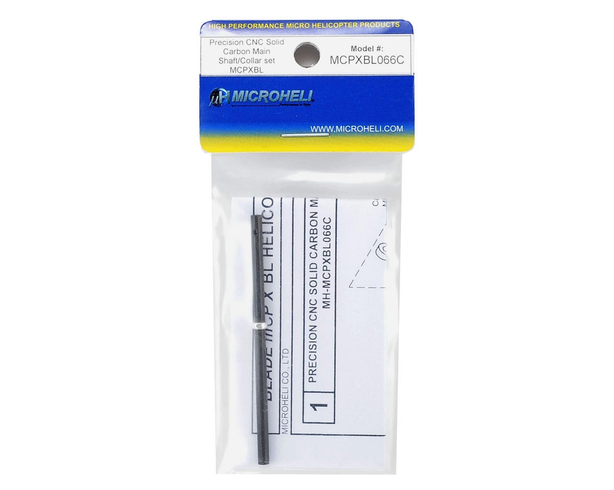 MicroHeli mCP X BL CNC Carbon Main Shaft & Collar Set