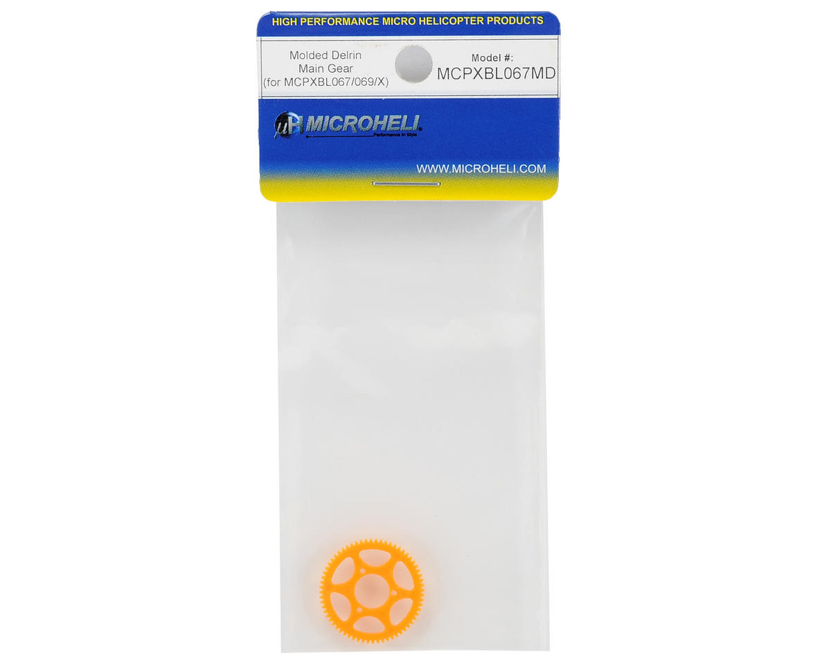 MicroHeli mCP X BL Molded Delrin Main Gear