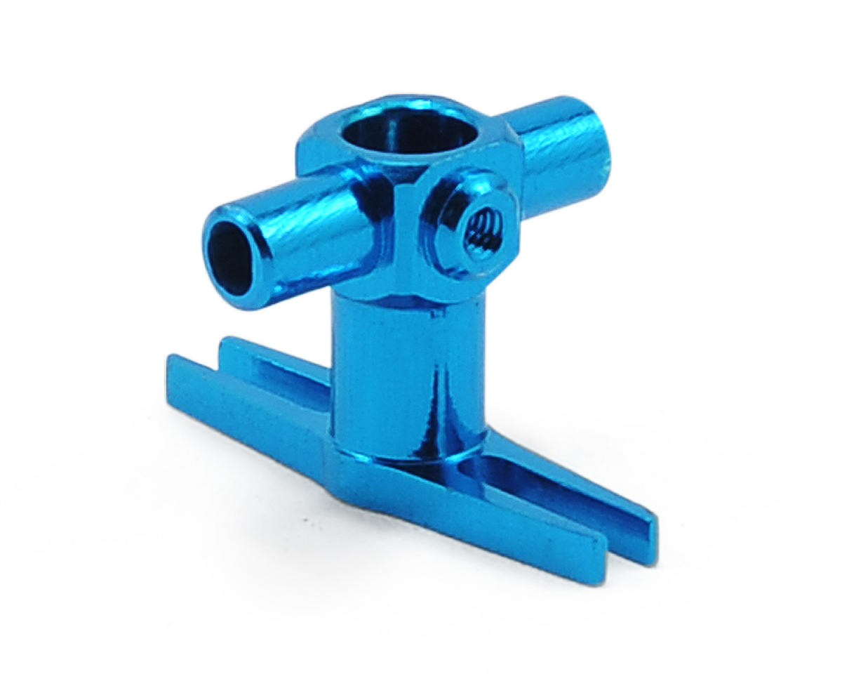 MicroHeli Precision CNC Lower Head (Blue) (Blade mCX/mCX2)