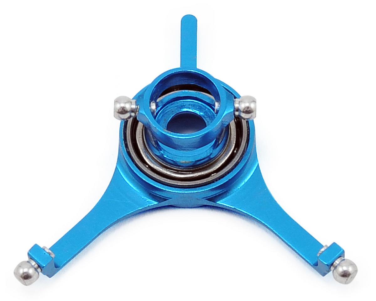 MicroHeli Aluminum Swashplate (Blue) (mCX)