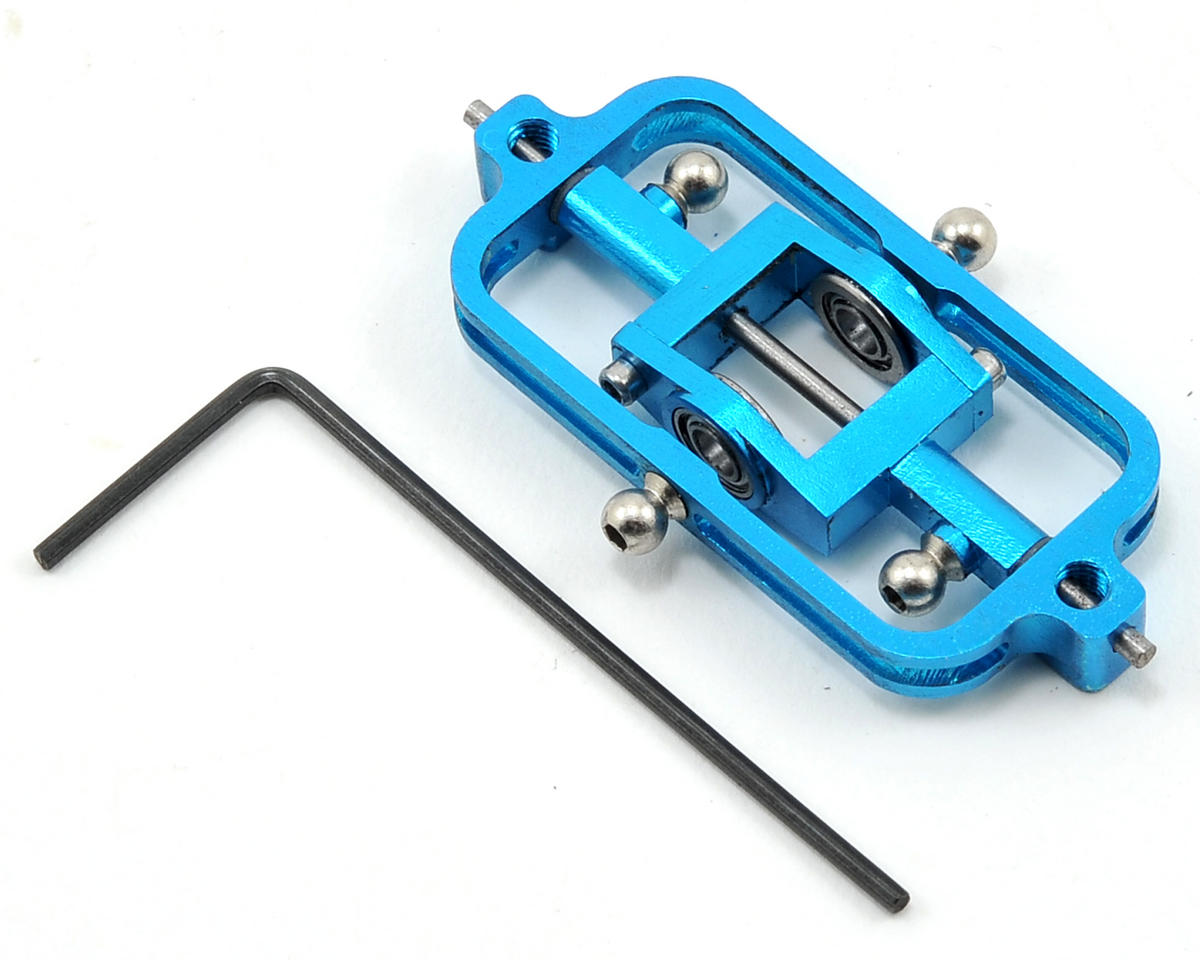MicroHeli CNC Flybar System (Blue)