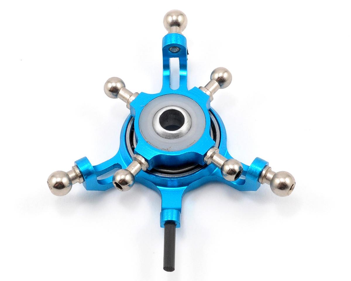 MicroHeli CNC Swashplate (Blue)