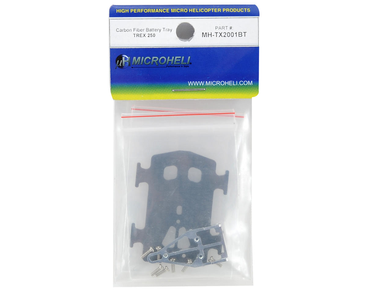 MicroHeli Carbon Fiber Battery Tray