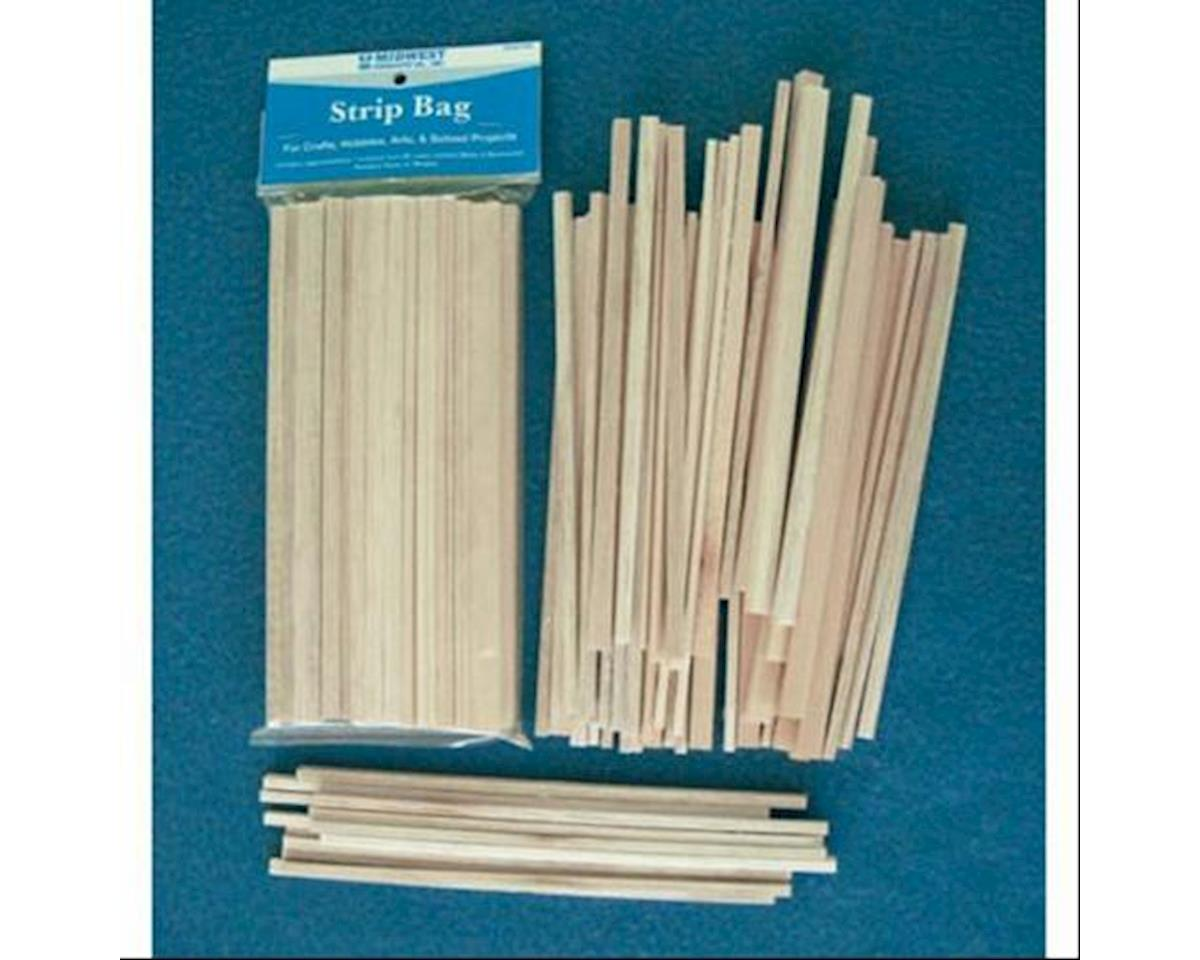 Balsa & Basswood Strips by Midwest