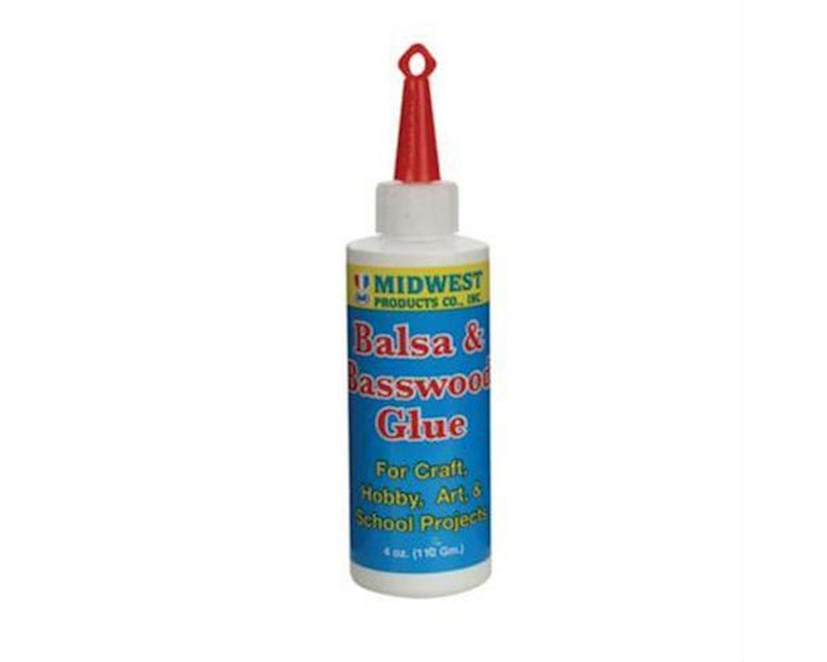 Balsa & Basswood Glue 4oz by Midwest