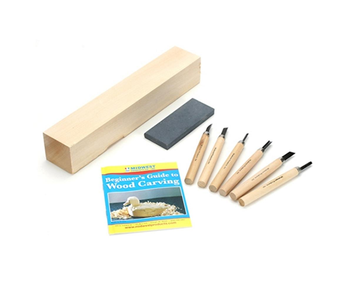 Wood Carver's Starter Kit by Midwest