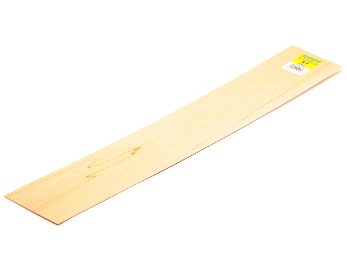 "Midwest 1/32 x 4 x 24"" Basswood Strip (15)"