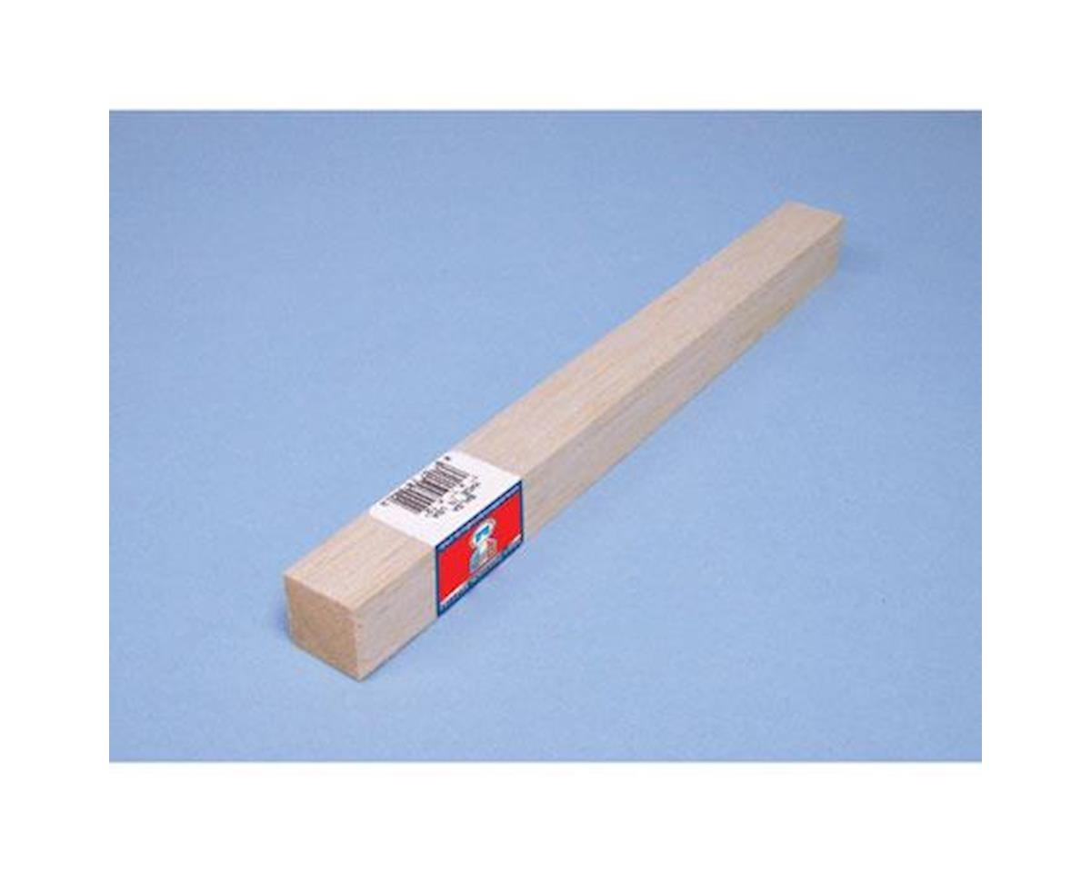 Balsa Block, 1 x 1 x 12 by Midwest