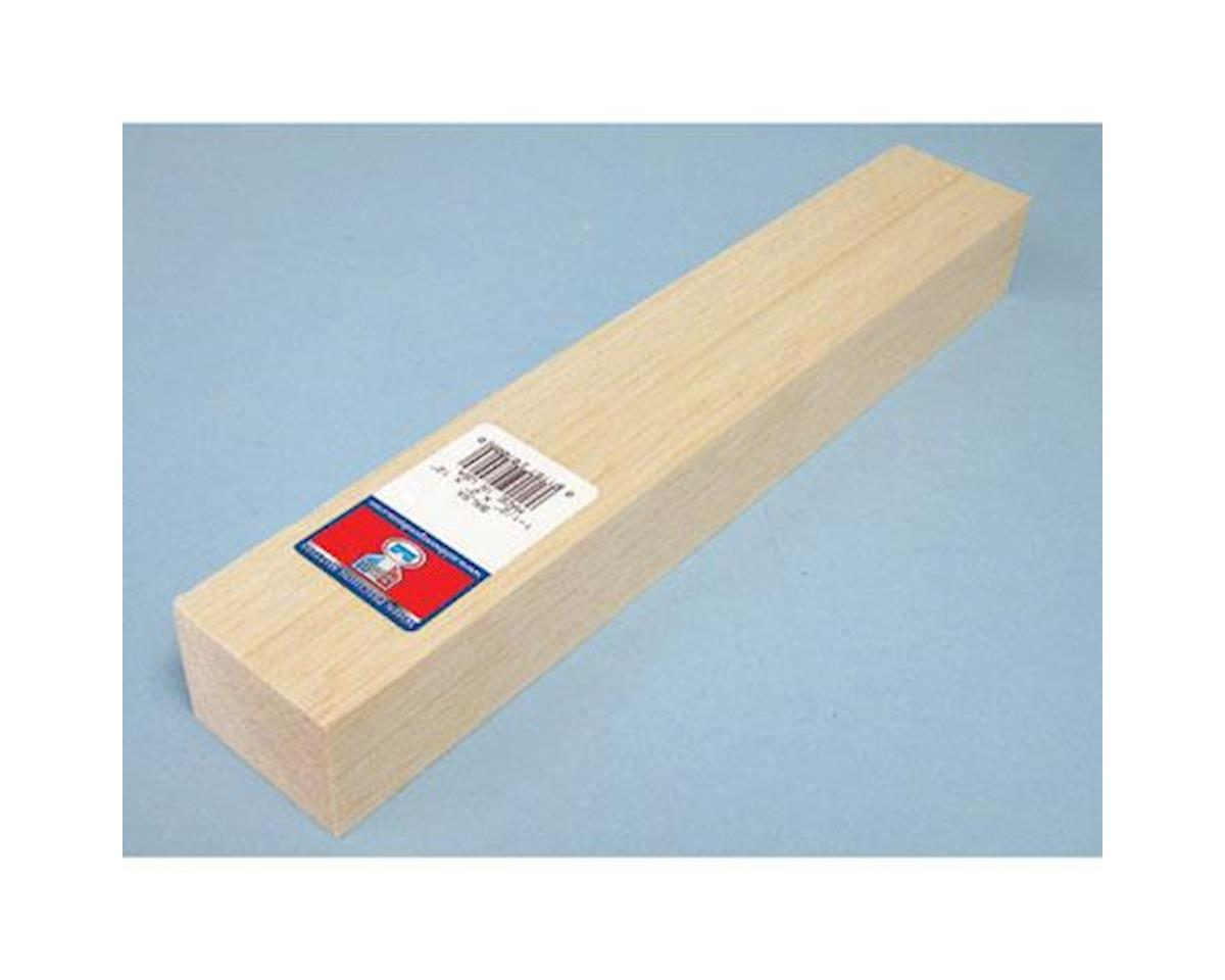Balsa Block, 1.5 x 2 x 12 by Midwest
