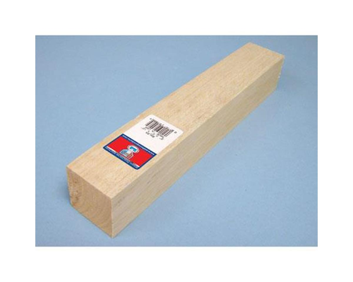 Balsa Block, 2 x 2 x 12 by Midwest