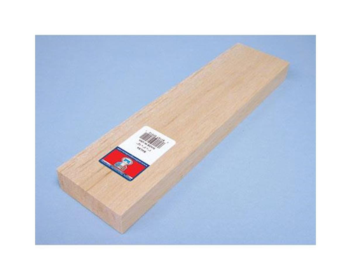 Balsa Block 1 x 3 x 12 by Midwest