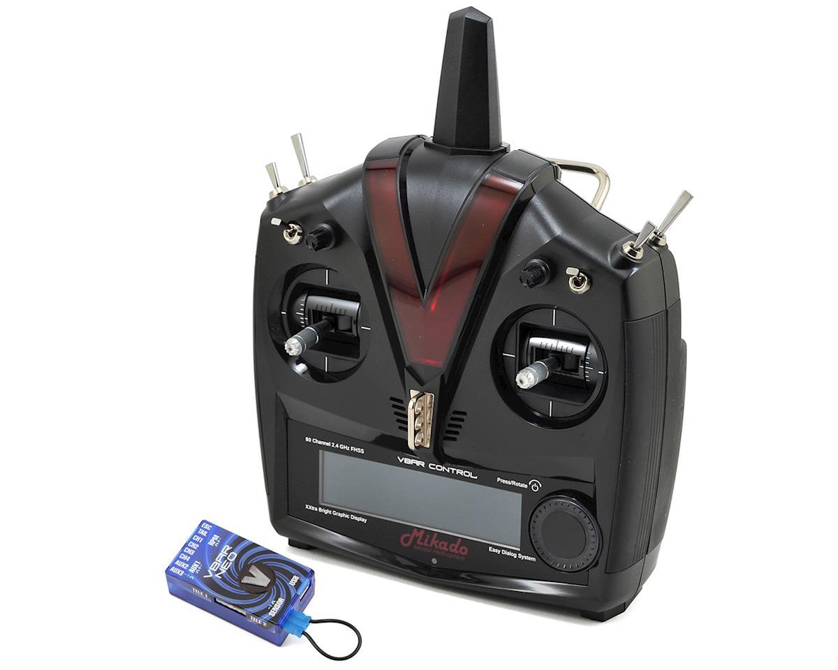 Mikado VBar VControl Radio w/FREE VBar Neo 04945 & RX-Satellite (Grey/Black)