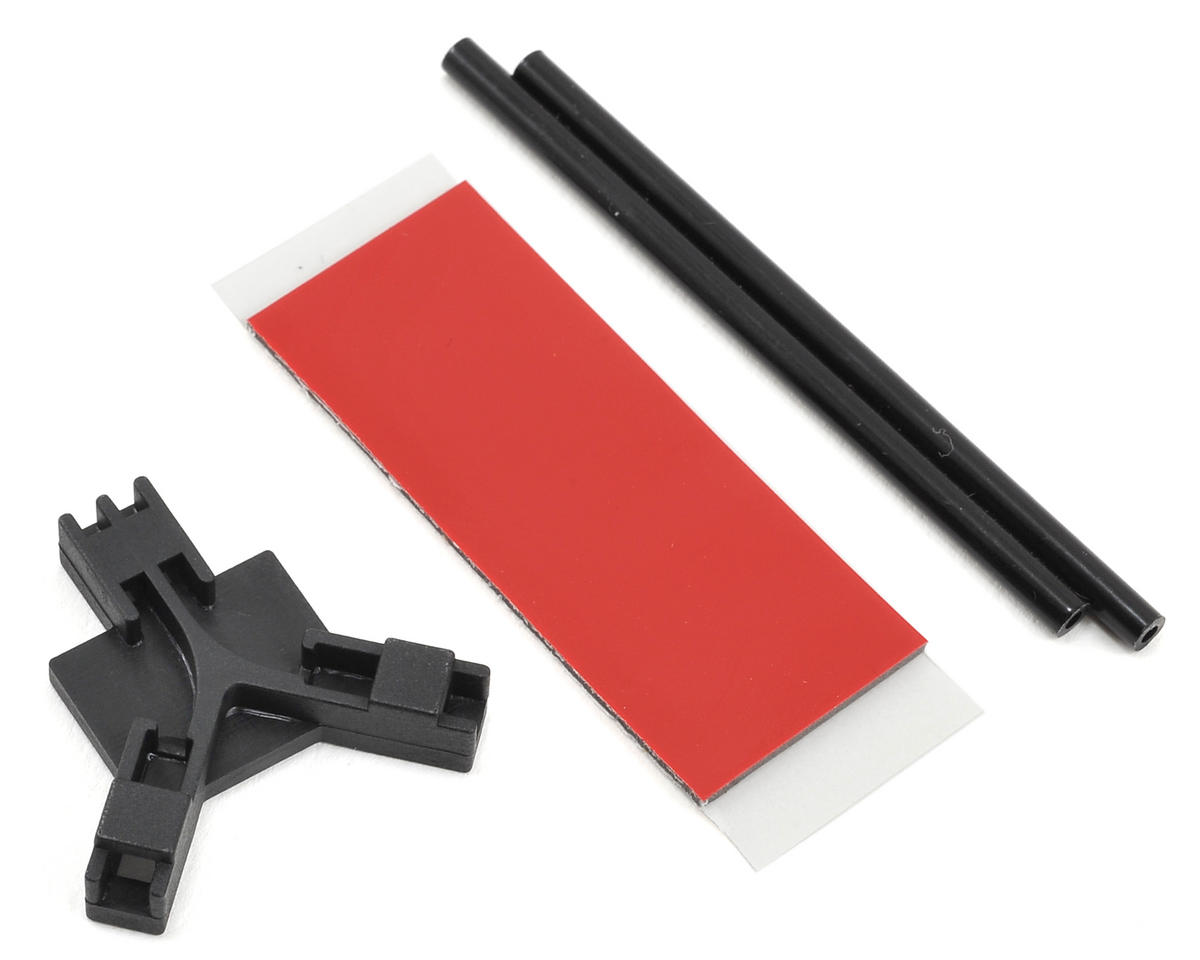 Mikado Flat Mounting Antenna Support (Black)