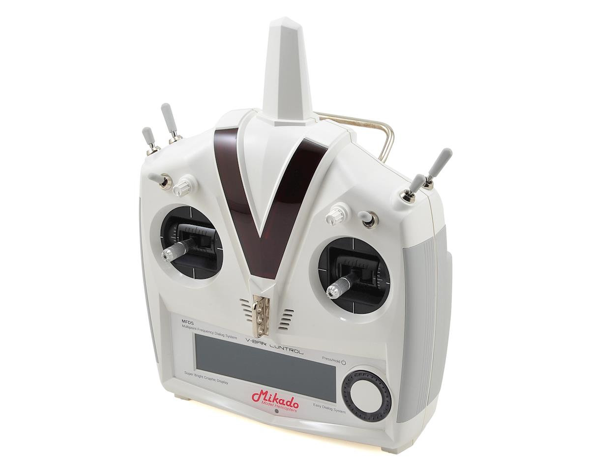 Mikado VBar VControl Radio w/RX-Satellite (White)
