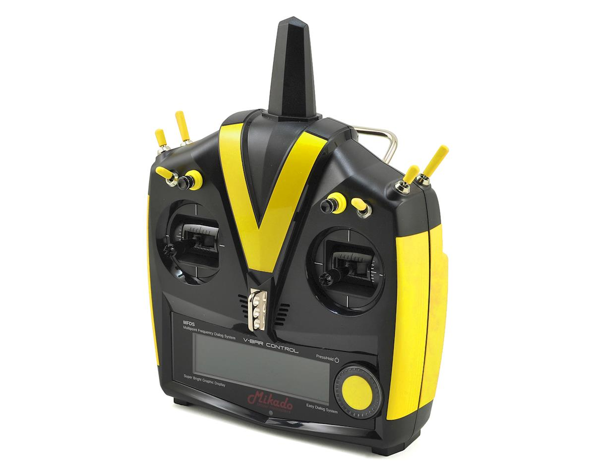 VBar VControl Radio w/VBasic Receiver (Black/Yellow) by Mikado