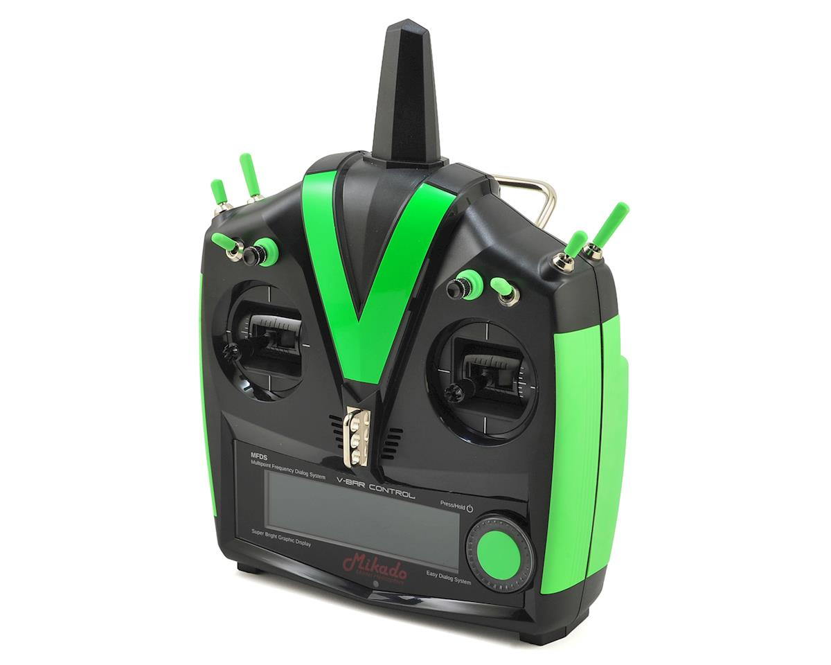 VBar VControl Radio w/VBasic Receiver (Black/Green) by Mikado