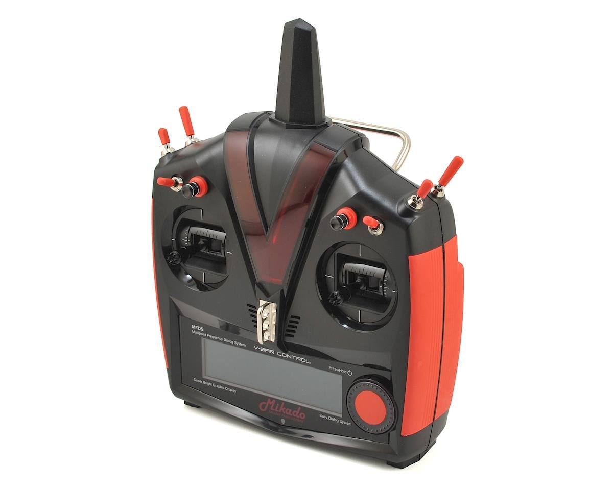 VBar VControl Radio w/VBasic Receiver (Black/Red)