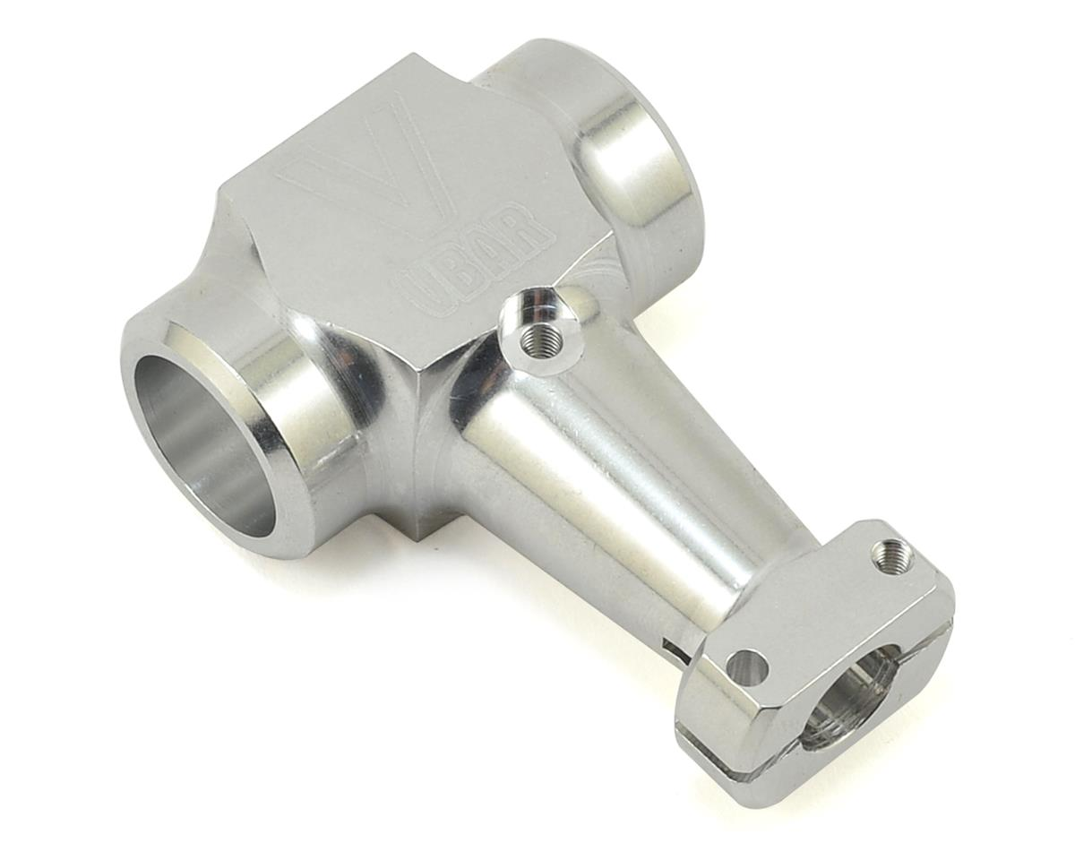 Mikado Silver Metal Rotor Head Yoke