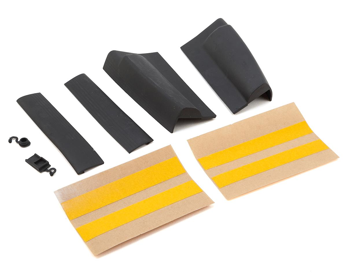 Mikado Vcontrol Rubber Grip Set (Black)