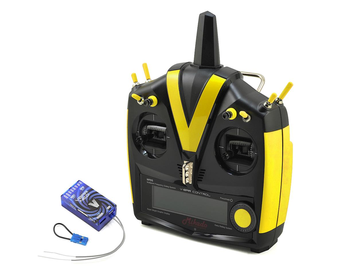 Mikado VBar VControl Radio w/VBar Neo VLink (Black/Yellow)