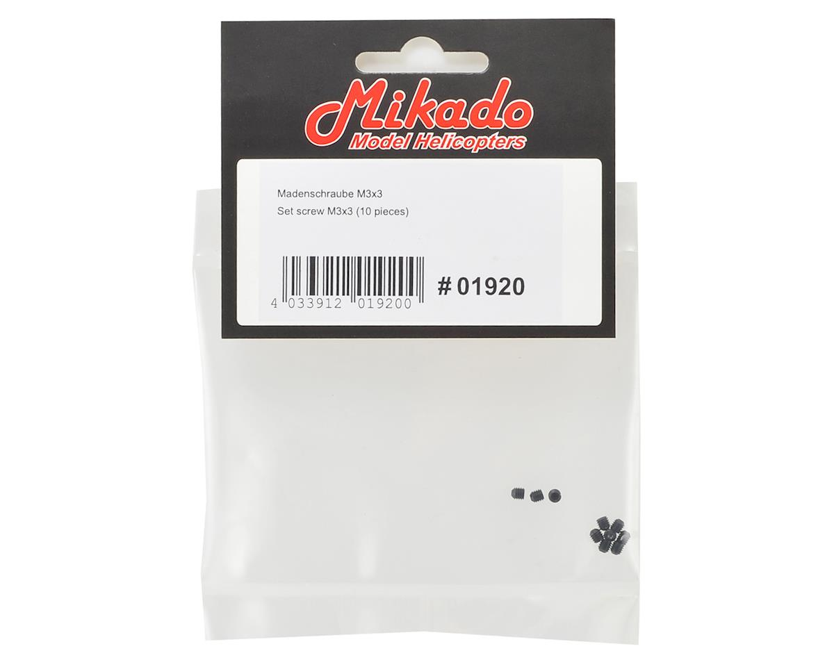 Mikado 3x3mm Set Screw (10)