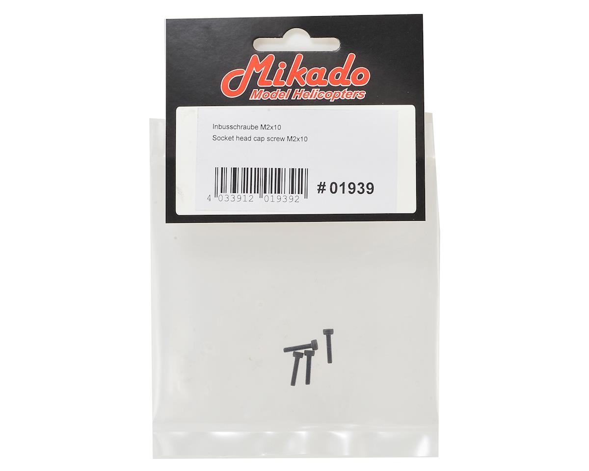 Mikado 2x10mm Socket Head Cap Screw (4)