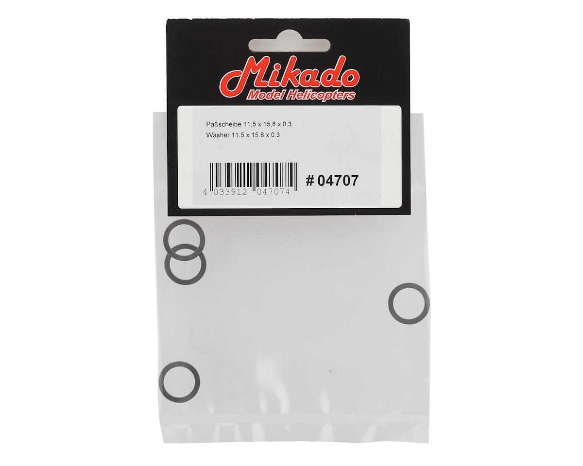 Mikado 11.5x15.8x0.3mm Washer (4)