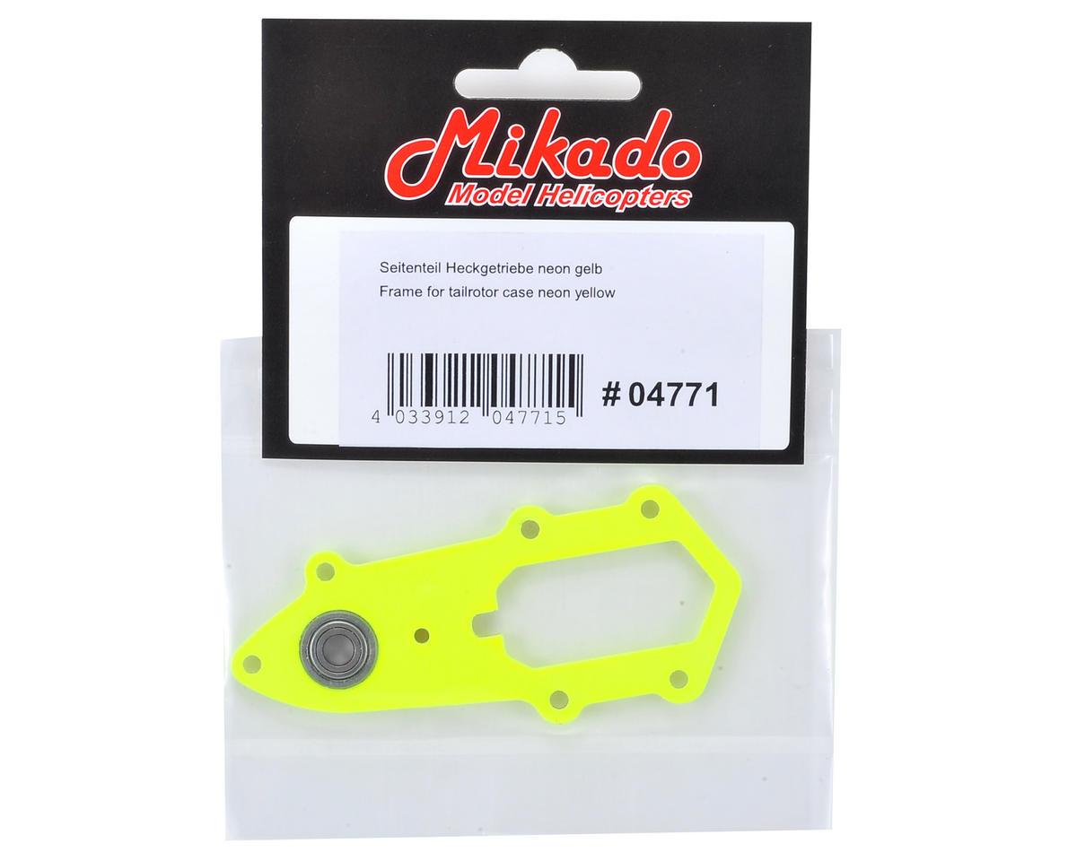 Mikado Tailrotor Case Frame (Neon Yellow)