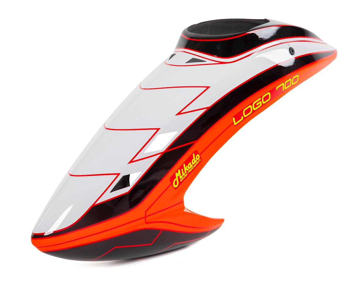 Mikado Logo 700 Canopy (White/Black/Orange)