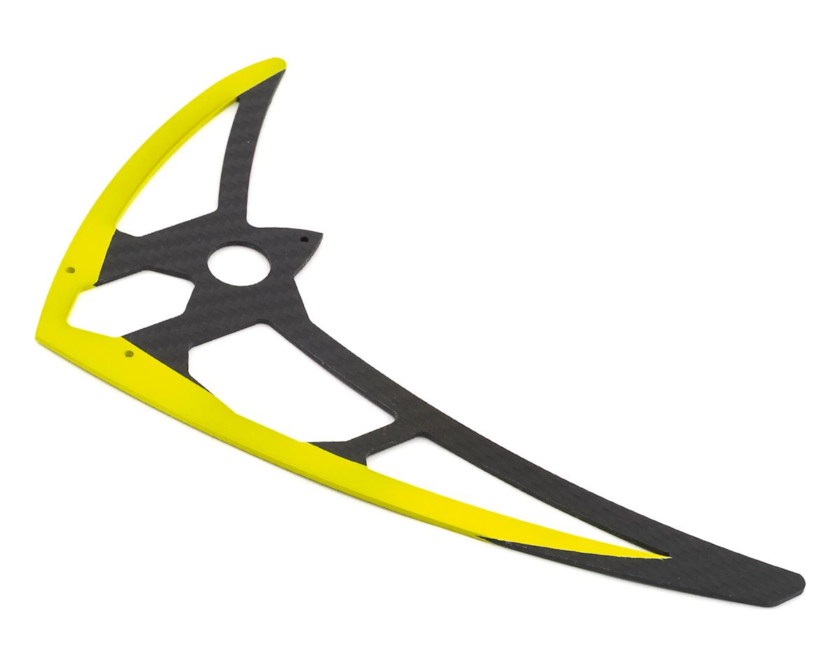 Mikado Logo 700 Carbon Vertical Fin (Yellow)