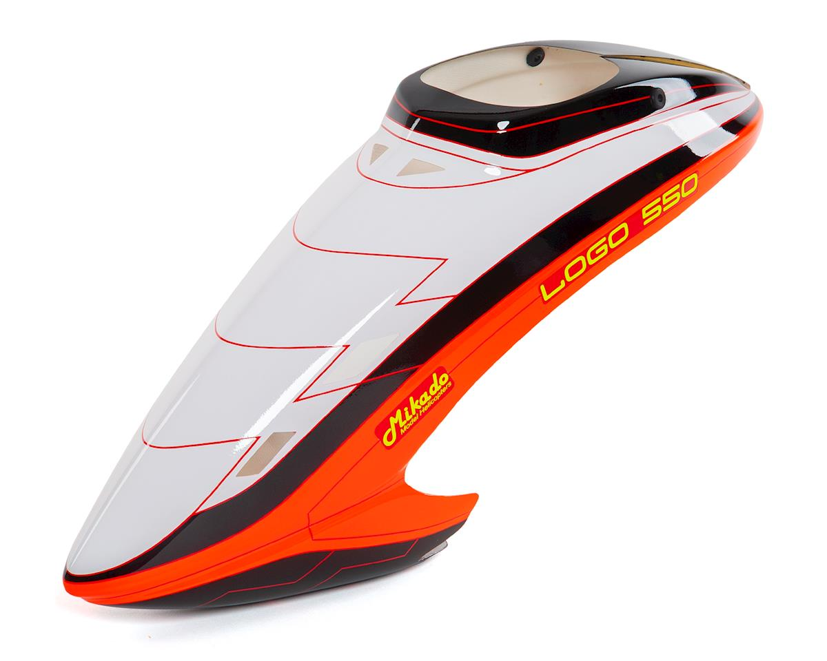 Mikado Logo 550SE V2 550 Canopy (White/Black/Orange)