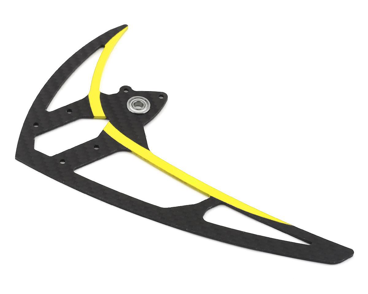 Mikado Logo 550 Carbon Vertical Fin (Yellow)