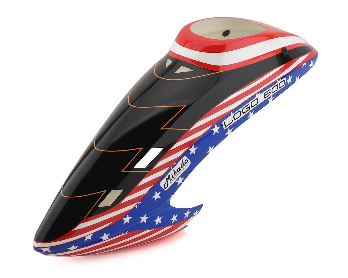 Mikado Logo 600 2017 Canopy (Stars & Stripes) | relatedproducts