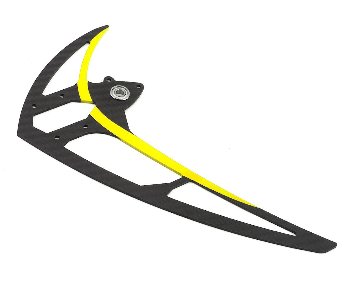 Mikado Logo 600 Carbon Vertical Fin (Yellow)