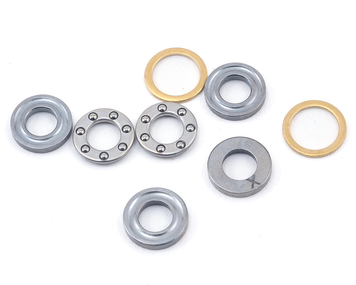 Mikado Logo 600SX 4x8x3.5mm Thrust Bearing (2)