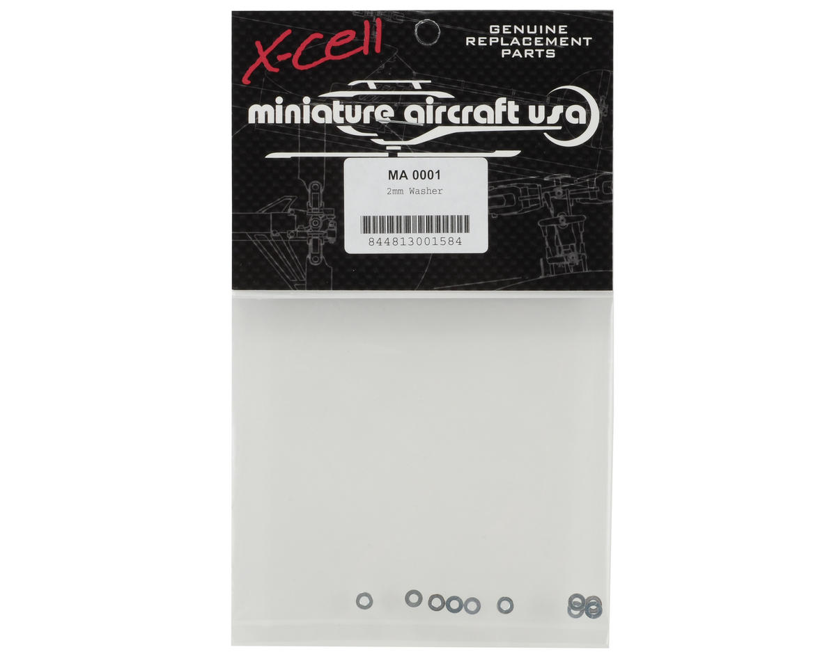 Miniature Aircraft 2mm Washer (10)