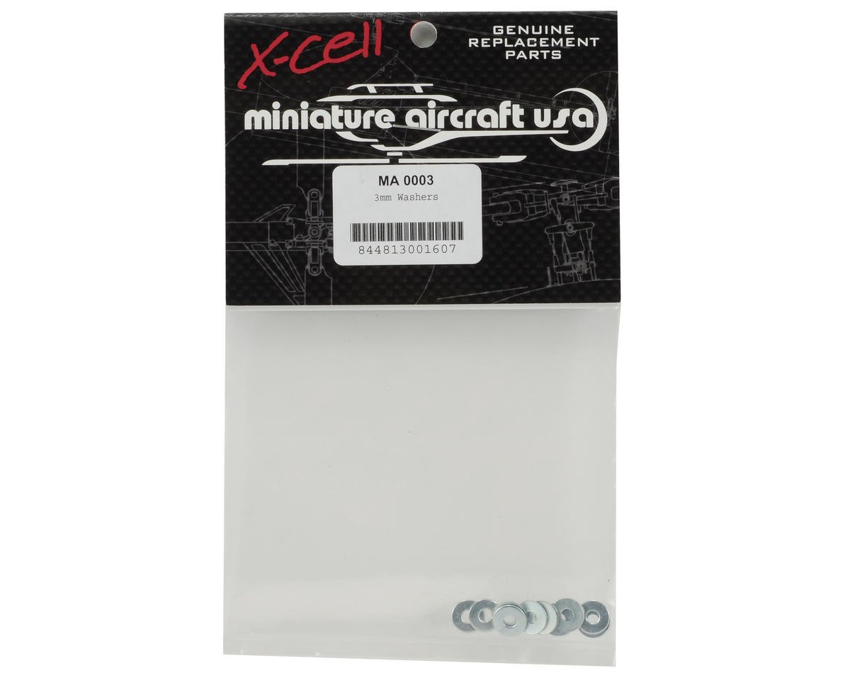 Miniature Aircraft 3mm Washer (10)