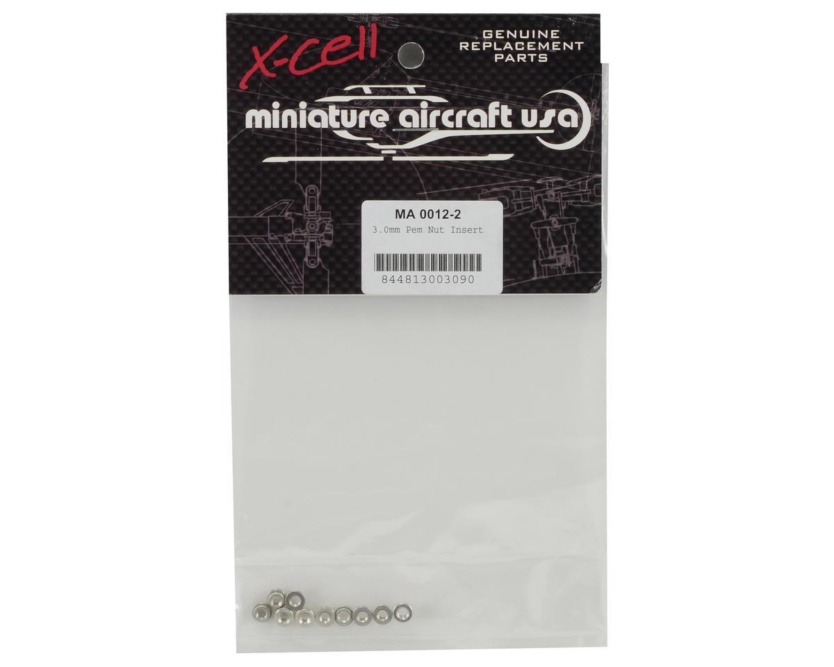 Miniature Aircraft 3.0mm Pem Nut Insert (10)