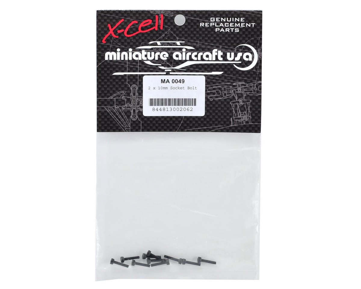 Miniature Aircraft 2x10mm Cap Head Screw (10)