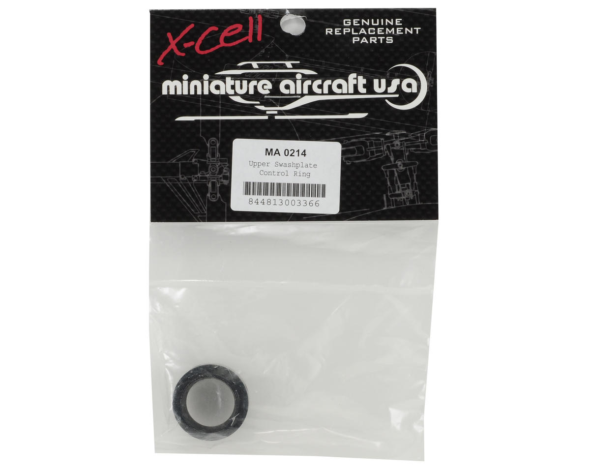 Miniature Aircraft Upper Swashplate Control Ring